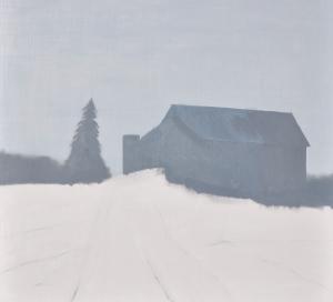 1 - Farm Access Road in Ice Fog