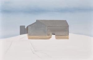 1 - Winter Barn